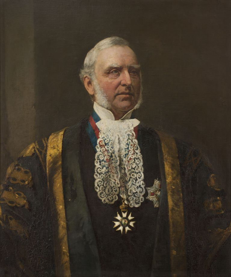 George Folingsby, The Hon. Sir Redmond Barry KCMG, 1881. University of Melbourne Art Collection