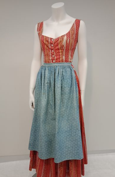 Traditional Danish outfit belonging to Karen Holten, Grainger Museum Collection, University of Melbourne