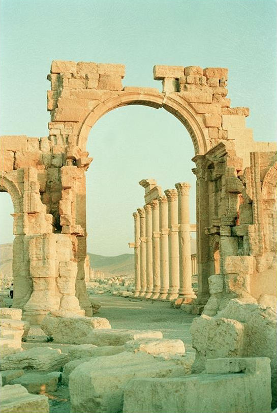 Monumental Arch Palmyra, 1989. Private collection