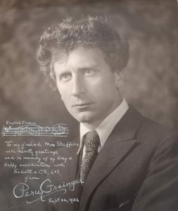 Percy Grainger, dedicated to Max Steffens