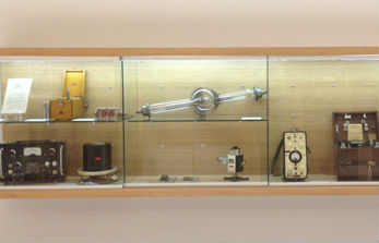 Radiology collection items currently on display at the VCCC